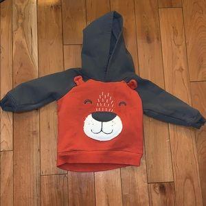 Carter's Shirts & Tops - EUC Bear Sweatshirt